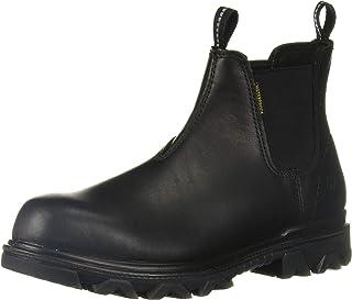 WOLVERINE 女式 I-90 EPX Romeo 建筑靴,黑色,11.5 超宽美国