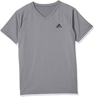 Adidas 阿迪达斯 T恤 单点图案 V领 男士