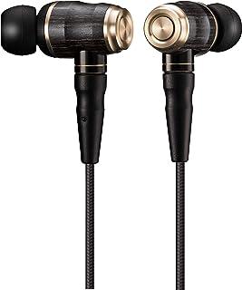 JVC HA-FX1100 WOOD系列 入耳式耳机 有线/支持高分辨音源 黑色