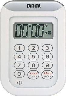 TANITA 百利达 TD-378 秒表 100 分钟计时器 白色 100分 TD-378 WH