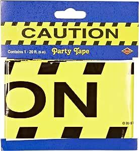 Caution Party Tape Party Accessory (1 count) (1/Pkg)
