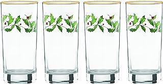 Lenox Holiday Hiball Glasses, Set of 4