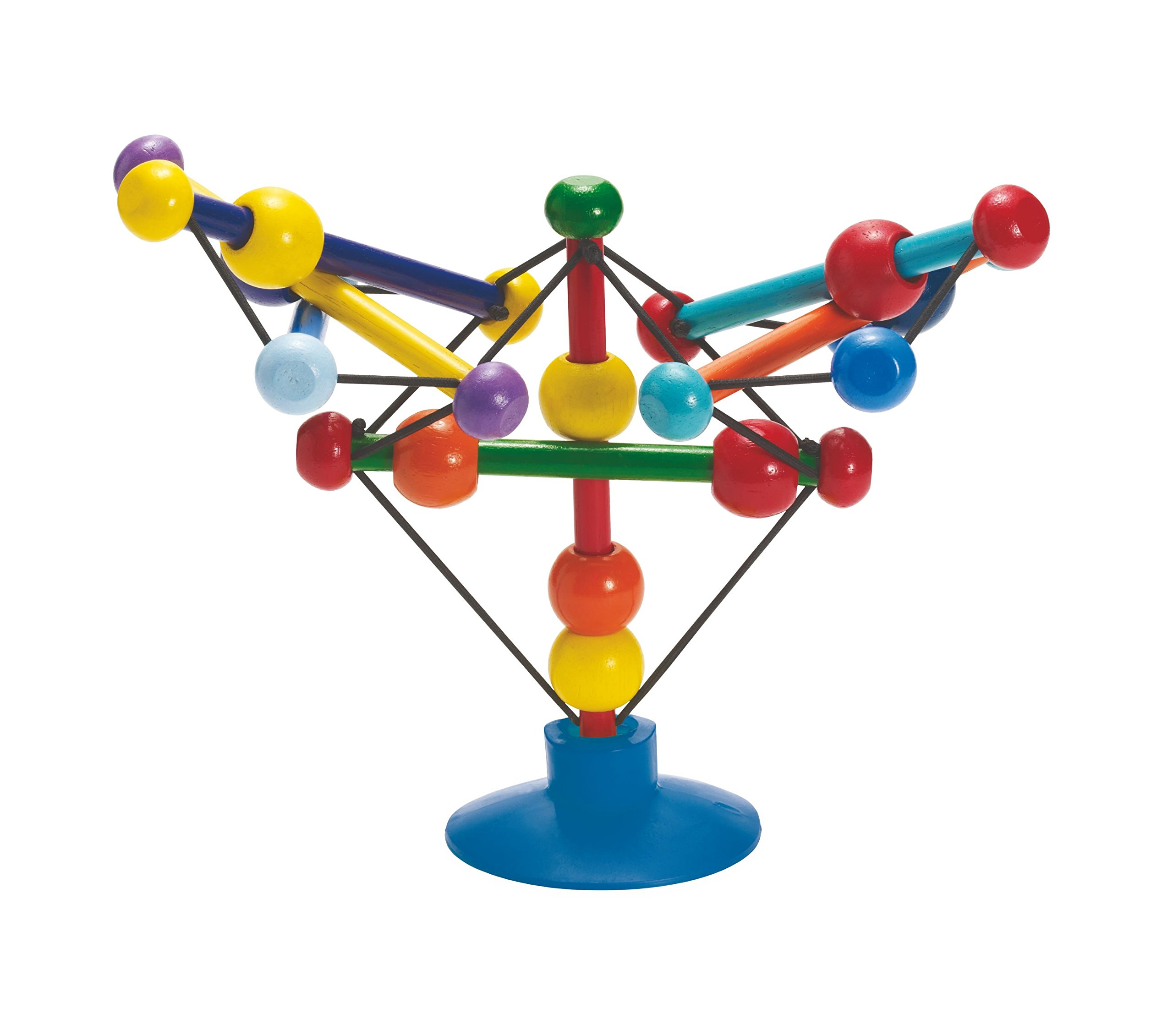 Manhattan Toy 曼哈顿玩具 Skwish Stix婴儿桌上吸力活动玩具