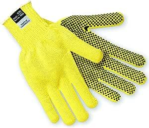MCR Safety Kevlar 标准重量 7 号圆点手套 单面配有 PVC 点 X大码 9365XL