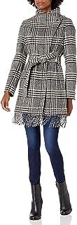 Calvin Klein 女士裹身束腰羊毛带流苏下装
