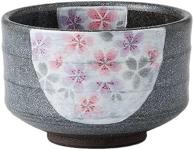维克多 抹茶碗 礼物 盒装 樱花纹黑茶碗 435196