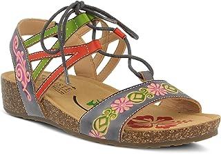 L'Artiste by Spring Step 女士风格 Loma 皮革凉鞋