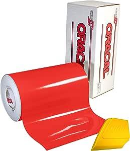 oracal 65150.80厘米 x 152.40cm 光泽乙烯基选择颜色 solvent-based adhesive-backed calendared 包裹贴