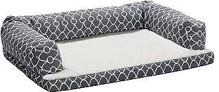 Quiet Time Teflon Gray Ortho Sofa Dog Bed 灰色 36x54