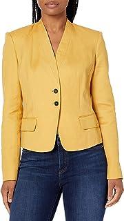 Calvin Klein 女士双扣夹克