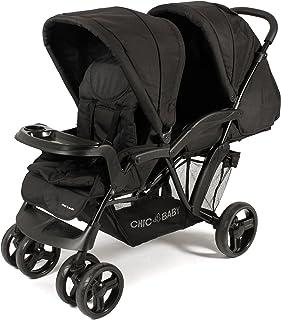 CHIC 4嬰兒 Doppio 兄弟姐妹車設計2017 黑色