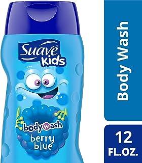 Suave 浆果蓝色沐浴露,不伤眼,12盎司(约340.19克),355毫升(6瓶)