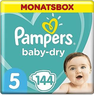 Pampers 帮宝适 Baby Dry 尿布,纸尿裤 Windeln Gr. 5 144