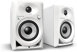 Pioneer DJ 4英寸有源监听扬声器 DM-40BT-W