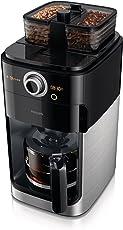 PHILIPS 飞利浦 家用全自动美式双豆槽滴滤咖啡机 HD7762/00 (双豆槽组合 口味自由搭配/ 豆粉两用 轻松享受现磨咖啡/ 客制化定时烹煮)