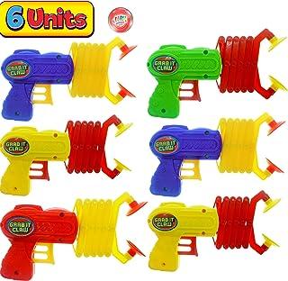 JA-RU 机器人手臂抓握器,抓抓握玩具(单个组合)12 英寸长。 拨片棒。 Grabber 儿童玩具。 *的派对包装礼品工具玩具。 加 1 个弹跳球产品 #5614-1A 6 Units 12 Inches