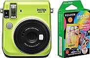 Fujifilm Instax Mini 70 – 即时胶片摄影(天堂*)和 Instax 迷你彩虹胶片超值装 – 10 幅图像