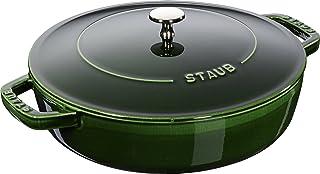 ZWILLING 双立人 STAUB 珐宝 高盖铸铁锅,罗勒绿,28厘米