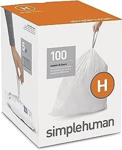 simplehuman cw0161CODE B 定制座套6L 垃圾桶护垫,30/ 盒