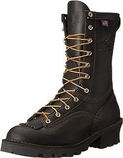 Danner 男士 Flashpoint II 10 英寸全皮工作靴