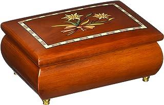经典 4.9 英寸马奎特里埃德瑞女郎设计音乐盒