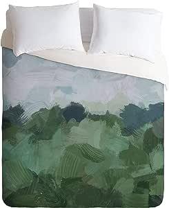 Society6 大鼻子工作婴儿树懒被套套装带枕套,双人床/双人床,*
