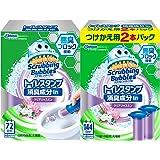Johnson莊臣Scrubbing Bubbles 衛生間清潔劑 廁所 *成分in Clear Japan香味 主體(手柄1根+替換用3根裝) 18印章分 38g