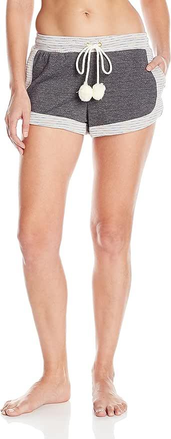 Honeydew 贴身女式 Lazy Daze 慢跑短裤 Multi Charcoal/Cream Medium