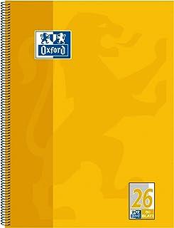 OXFORD 学院系列练习簿 A4+ 80 张 打孔 26 线条 – 方格纹镶边 1 Stück