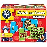 Orchard Toys 积木拼图 配对与计数-动物
