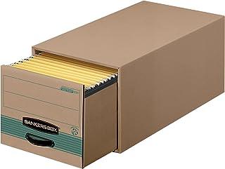 Bankers Box 储藏/文件 * 储物盒 字母 6-包每包 1 条 牛皮/绿色