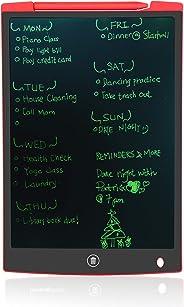 多功能 LCD 电子写字板,也无墨绘图/备忘板或无纸记事/计划板 红色 12英寸 eBoard85-12inchBlack