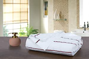 Story@Home Egyptian Cotton Extra Absorbent Beach Towels-1 Pcs Bath Towel -T. RED