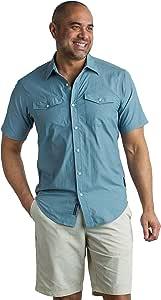 ExOfficio 男式 Syros 轻质短袖衬衫