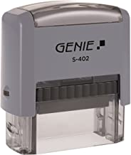 Genie S-402 自取墨章套裝(包括配件,印臺) 4 Zeilen