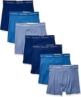 Calvin Klein 男式 经典棉质平角内裤 超值7条装