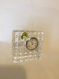 Waterford 水晶大方形偏置时钟