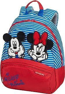 Samsonite 新秀丽 迪士尼 Ultimate 2.0 儿童帆布背包 小号 28.5 厘米 7 升 多色 (米妮/米奇)