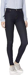 J Brand Jeans Women's Maria High Rise Skinny Dark Indigo