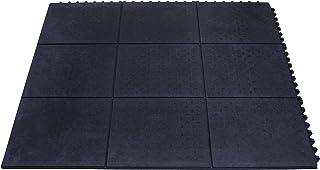 Miltex 16020 脚垫瑜伽工业,90 x 90 厘米,黑色
