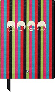 Montblanc Notebook Fine 文具#146 The Beatles Edition – 笔记本A5 横线带软封面 – 颜色:彩色 – 192页