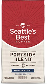 Seattle's Best Coffee Portside Blend (Previously Signature Blend No. 3) Medium Roast Ground Coffee, 12-Ounce Bag, 6 Count