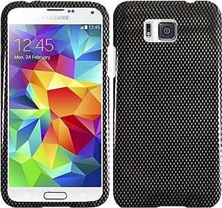 HRWIRELESS(TM) 三星 S5 Alpha SM-G906 / S5 Prime 手机壳DP-SAMS5Alpha-CF 碳纤维