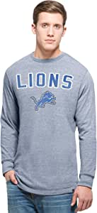 NFL Men's '47 Team Tri-State Long Sleeve Tee Olympic Blue 大