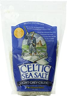 Light Grey Celtic Sea Salt Resealable Bags – Additive-Free, Delicious Sea Salt, Perfect for Cooking, Baking and More - Glu...