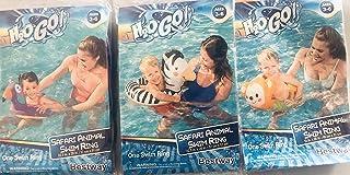 H2OGo! Safari 动物游泳戒指 - 款式可能不同 3-6 岁