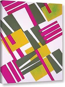 "Tremont Hill Serge Gladky ""设计源自 Nouvelles Composition Decoratives, 2020 年代末 XII""画廊包边帆布,18X24"