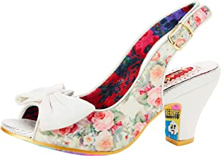 Irregular Choice 女士 Hiya Synth 露跟高跟鞋