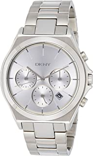 DKNY 女士 NY2378 PARSONS 银色手表