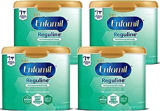 Enfamil 美赞臣铂睿 Reguline Constipation婴儿配方奶粉,含Omega 3,铁,20.4盎司(578g),4件装
